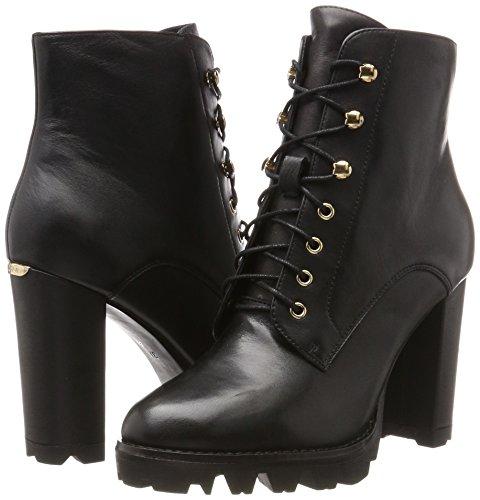 Jo Damen Black Liu Combat Schwarz Boots Cher AdnwH4