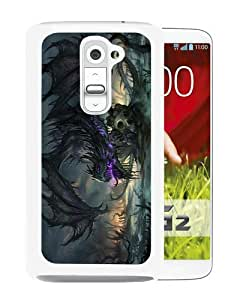 Personalized Design Dragon 1 White Durable LG G2 Protective Skin Cover Case