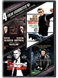 4 Film Favorites: Steve McQueen Collection (Papillon / Bullitt / The Getaway / The Cincinnati Kid)