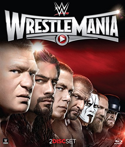 WWE: WrestleMania 31 [Blu-ray] (The Rock Vs Brock Lesnar Vs John Cena)