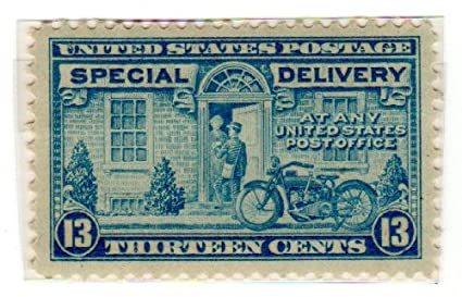 Amazon Postage Stamps United States One Single 13 Cents Blue