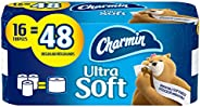 Charmin Ultra Soft Toilet Paper, 16 Triple Rolls Bath Tissue = 48 Regular Rolls