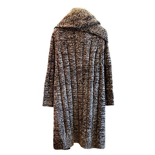 Tops Tricot Veste Femme Cardigan en Manteau avec Tricot Sfit gPOW6T0