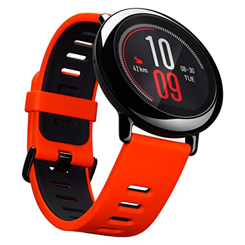 Amazfit A1612r Pace Gps Running Smartwatch  Red Band   5 Days Battery Life