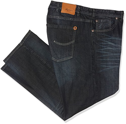 Uomo Loose Fit blue Wash 0597 Used Blau Replika Jeans qF7wzvtq