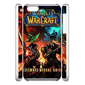 Generic Design Back Case Cover iphone5c 3D Cell Phone Case White Game World of Warcraft Alliance Mvvpa Plastic Cases