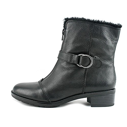 Leather Calf Madera Mid Black Naturalizer Leather Closed Toe Womens BHqwSxE