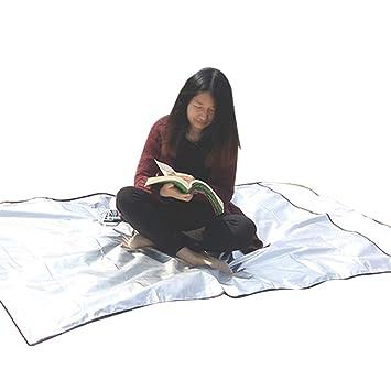 Saco de Dormir Al Aire Libre de 4 Capas Saco de Dormir de Emergencia Aislamiento a Prueba de Agua Sucio para el Exterior Camping Mochilero Viajes ...