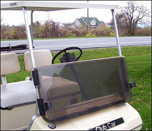 Windshield, Club Car Golf Cart 82-99, Fd, Tinted, on