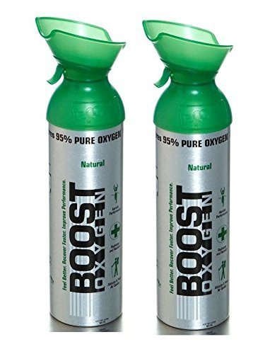 Boost Oxygen 22oz Natural (2-pack) by Dave N Marks Retail Sales LLC.