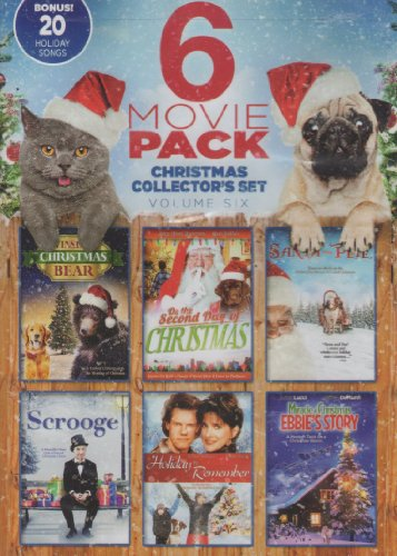 Christmas Story Collectors - 6 Movie Pack ~ Christmas Collector's Set Volume Six: Miracle at Christmas: Ebbie's Story, Santa and Pete, Winslow the Christmas Bear, On the Second Day of Christmas, Scroooge & A Holiday to Remember w/ BONUS 20 Holiday Songs