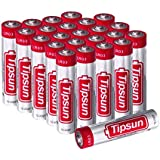 Tipsun 24 Pack AAA Alkaline Batteries, 1.5V High Energy LR03 Dry Batteries for Flashlight, Toys, Remote Control and Other Household Appliance