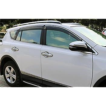 Amazon Com Window Visor Fits 2013 2018 Toyota Rav4 Xu50