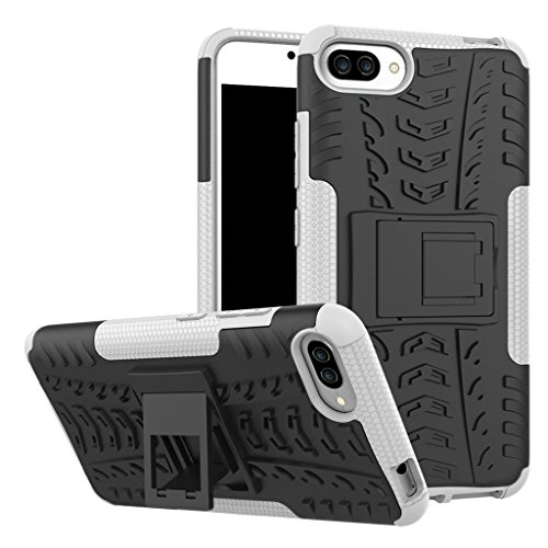 Shockproof Armor TPU/PC Case for Asus Zenfone Max (White) - 6