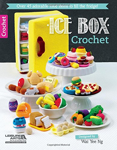 Ice Box Crochet (Canvas Pattern Plastic Box)