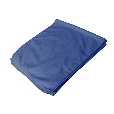 "Towels by Doctor Joe - Ultra-79 Blue All-Purpose 16"" x 27"" Microfiber Towel - 12 Pack: Automotive"