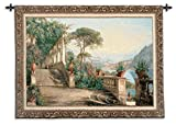 Fine Art Tapestries ''Lodge At Lake Como'' Wall Tapestry, Large