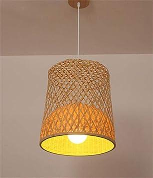 Tinsinss Lámpara de Techo Colgante de Luz Sombra Lámpara ...