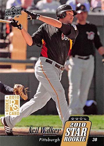 2010 Upper Deck Baseball #33 Neil Walker Pittsburgh Pirates MLB Trading Card