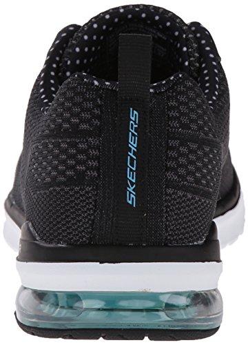 Skechers Sport Damen Air Infinity Fashion Sneaker Sneaker Fashion Schwarz / Schwarz 88c511