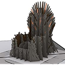 Lovepop The Iron Throne Game of Thrones Pop Up Card, 3D Card, Greeting Card