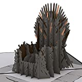 Lovepop The Iron Throne Game of Thrones Pop Up Card, 3D Card, Birthday Card, Greeting Card
