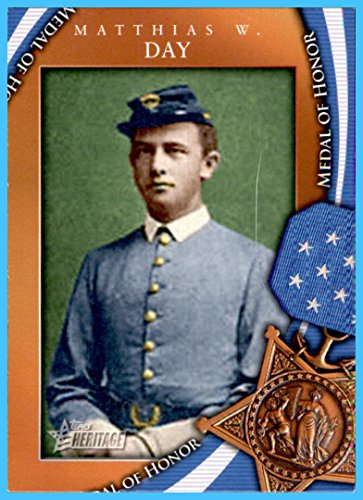 2009 Topps American Heritage Heroes Medal of Honor #MOH48 Matthias W. Day Indian Wars