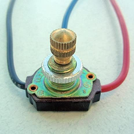 Leviton L20-573-027 4-Position Rotary Canopy Switch Brass & Amazon.com: Leviton L20-573-027 4-Position Rotary Canopy Switch ...