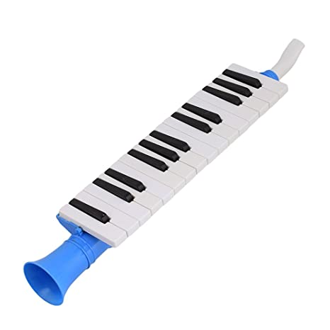 yibuy azul plástico 27 Teclas Melodica órgano de boca del viento Piano qm27 a negro blanco teclado para niños: Amazon.es: Instrumentos musicales