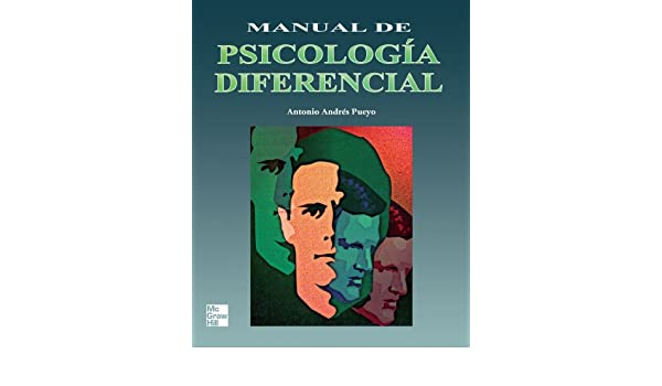 manual de psicologia diferencial andres pueyo