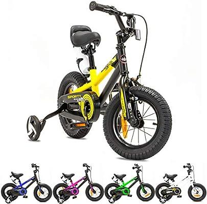 NB Parts - Bicicleta infantil para niños y niñas, BMX, a partir de ...