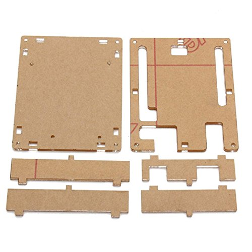 WINGONEER UNO R3 Case Enclosure Transparent Gloss Acrylic Computer Box Compatible with Arduino UNO R3