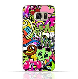 Samsung Galaxy S7 Edge TPU Silicone Case with Graffitii Hip Hop 2 Design