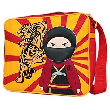ninja warriors - Mochila casual Rojo rojo: Amazon.es: Equipaje