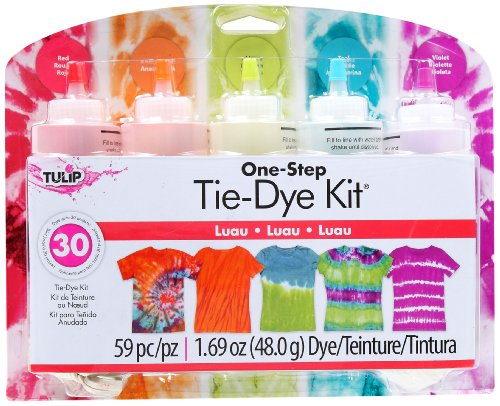 (I Love To Create Tulip One-Step Tie-Dye Kit, Large, Luau)