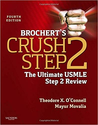 Brocherts crush step 2 the ultimate usmle step 2 review 4e brocherts crush step 2 the ultimate usmle step 2 review 4e 4th edition fandeluxe Images