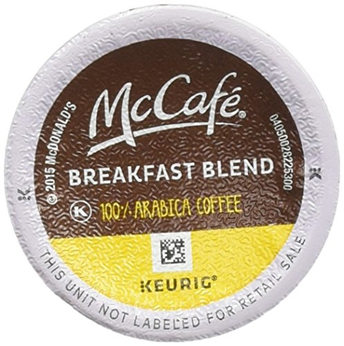 MCCAFE K-Cup Pods Coffee, Breakfast Blend, 18 Count