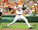"Mike Wright Baltimore Orioles 2015 MLB Action Photo (Size: 8"" x 10"")"