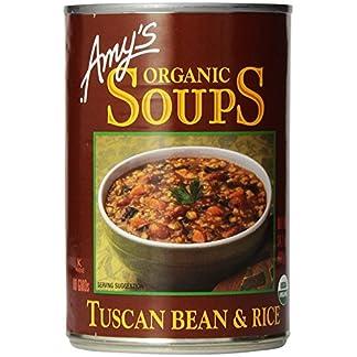 Amys Organic Soups, Tuscan Bean & Rice, 14.1 oz