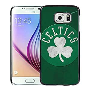 Unique Custom Designed Cover Case For Samsung Galaxy S6 With boston celtics 3 Black Phone Case