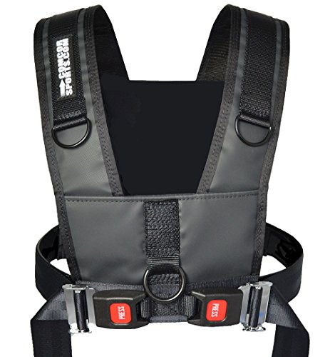 QR Sled Harness by ComCor Sports with 9' Pull Strap