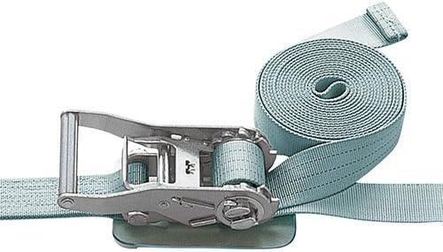 pa-man ベルト荷締機 Jフック/Eクリップ(巾50mm 固定1.5m 巻取5m)