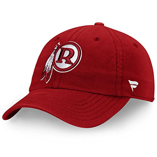 Fanatics Branded Washington Redskins Vintage Fundamental II Adjustable Hat - Burgundy (One Size)