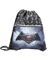 Dc Comics Batman Vs Superman Justice Drawstring Gym Backpack Daypack Travel Bag Slim