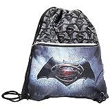 Dc Comics Batman Vs Superman Justice Drawstring Gym Backpack Daypack Travel Bag Slim For Sale