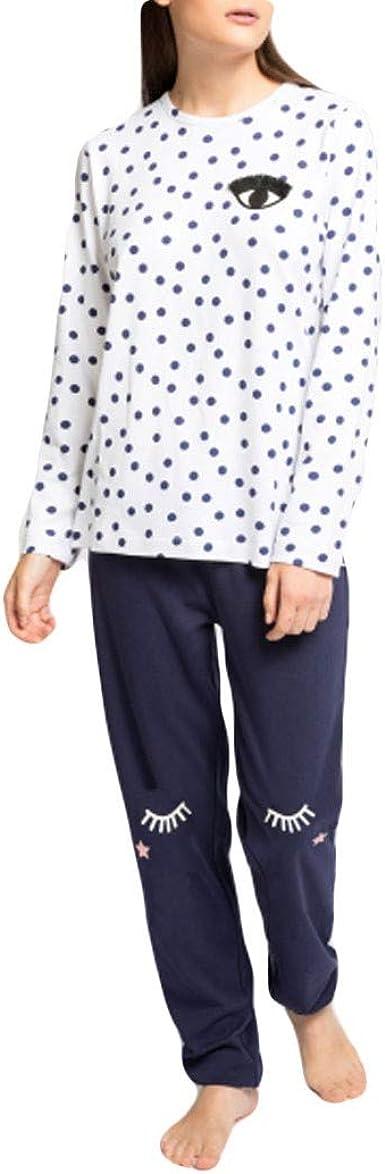 GISELA - Pijama Chica Mujer Color: Topo Talla: x-Large ...