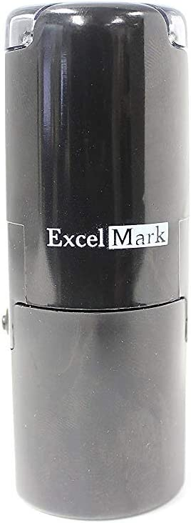 Round Teacher Stamp Like Blue Ink with 5cc Refill Ink