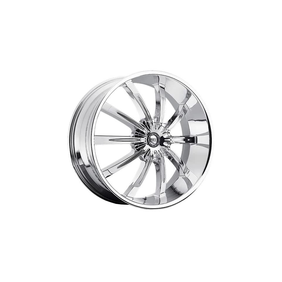 Rev 927 26 Chrome Wheel / Rim 5x4.5 with a 15mm Offset and a 78.1 Hub Bore. Partnumber 927C 2696515