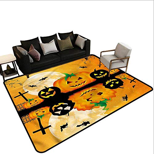 Halloween,Outdoor Kitchen Room Floor Mat 80