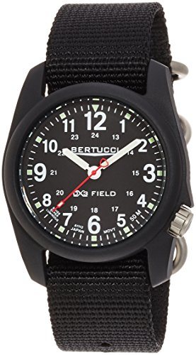 (Bertucci Men's 11015 Analog Display Analog Quartz Black Watch)